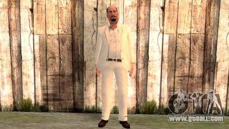 Joseph Clarence for GTA San Andreas