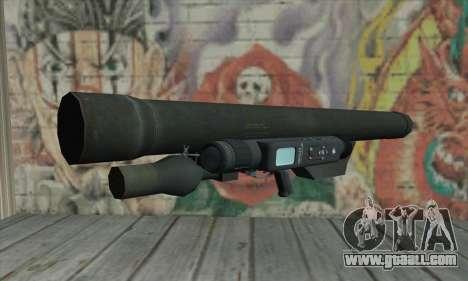 ATGM Launcher for GTA San Andreas