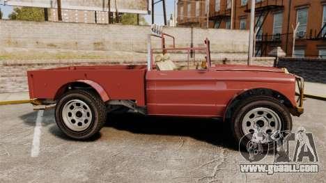 GTA V Canis Bodhi (Trevor Car) for GTA 4 left view