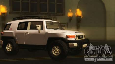 Toyota FJ Cruiser 2012 for GTA San Andreas