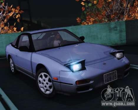 Nissan 240SX S13 v1.0 for GTA San Andreas