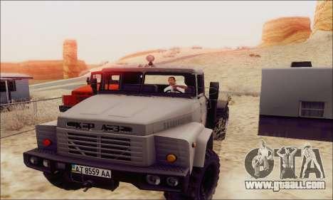 KrAZ 260v for GTA San Andreas left view