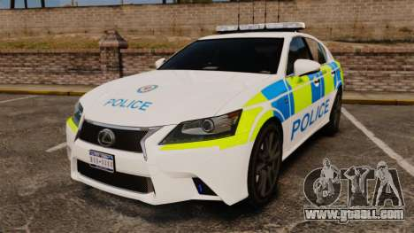 Lexus GS350 West Midlands Police [ELS] for GTA 4