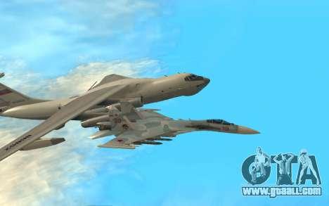 Su 33 for GTA San Andreas left view