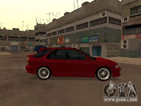 Subaru Impreza Wagon for GTA San Andreas left view