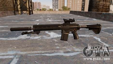 HK417 rifle for GTA 4 third screenshot