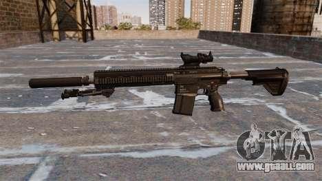 HK417 rifle for GTA 4 third screenshot