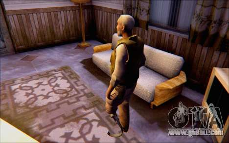 Eli from Half Life 2 for GTA San Andreas third screenshot