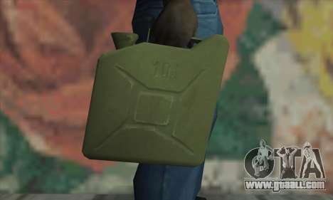 Canister for GTA San Andreas third screenshot
