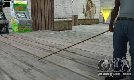 New Pool Cue for GTA San Andreas third screenshot