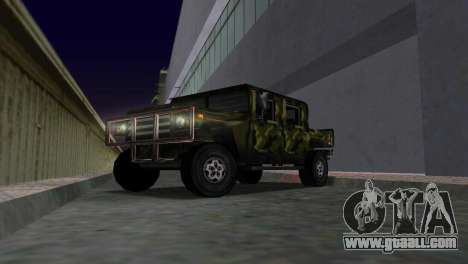 Russian Patriot texture for GTA Vice City