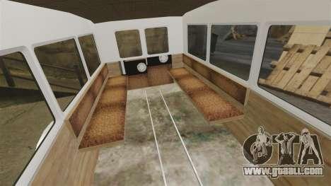 Gaz-AA ambulance for GTA 4 inner view