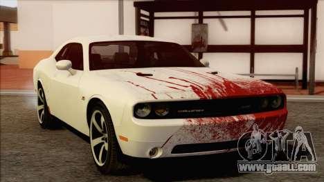 Dodge Challenger SRT8 2012 HEMI for GTA San Andreas upper view