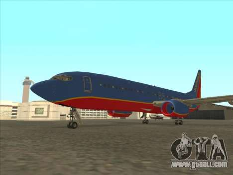 Boeing 737 Southwest Airlines for GTA San Andreas