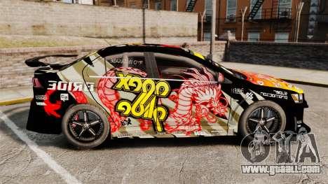 Mitsubishi Lancer Evolution X Ryo King for GTA 4 left view