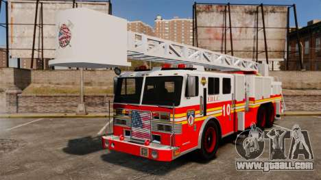 Fire Ladder v1.3 [ELS] for GTA 4