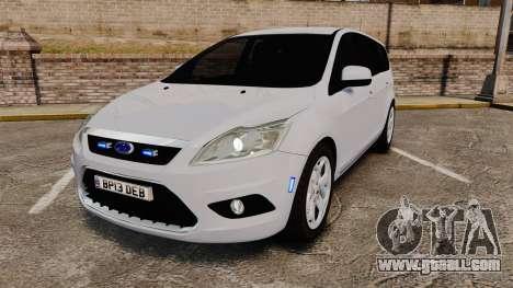 Ford Focus Estate 2009 Unmarked Police [ELS] for GTA 4
