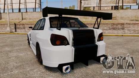 Subaru Impreza v2.0 for GTA 4 back left view