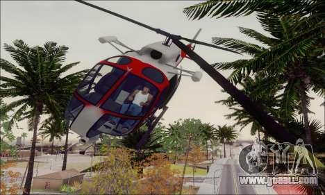 GTA V Ambulacia Maverick for GTA San Andreas side view