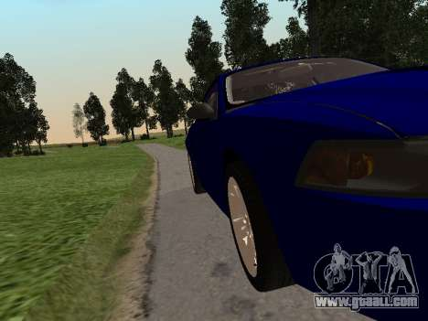 Ford Mustang GT 1999 for GTA San Andreas back left view