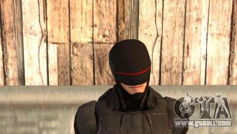 Robocop 2014 Movie Version for GTA San Andreas third screenshot