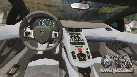 Lamborghini Aventador LP700-4 2012 [EPM] Lamotte for GTA 4 inner view