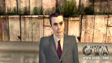 JI-man from half-life 2 for GTA San Andreas third screenshot