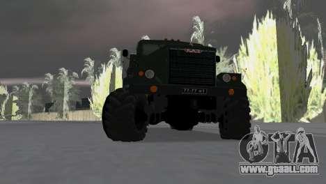 KrAZ 257 for GTA Vice City right view