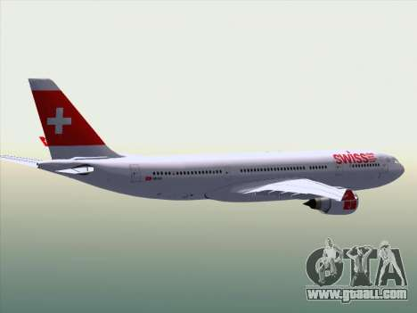 Airbus A330-223 Swiss International Airlines for GTA San Andreas interior