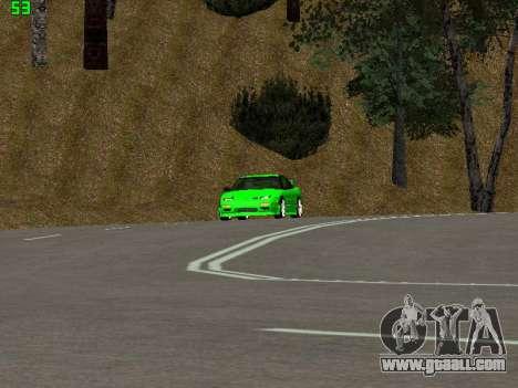 Nissan 240SX Drift Version for GTA San Andreas back view