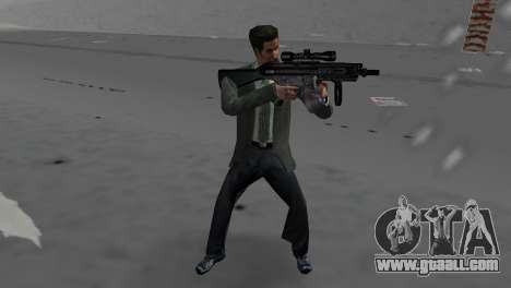Custom MP5 for GTA Vice City