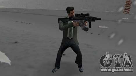 Custom MP5 for GTA Vice City