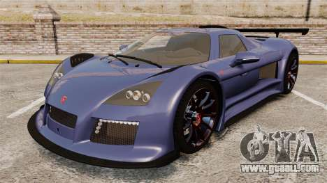 Gumpert Apollo S 2011 for GTA 4