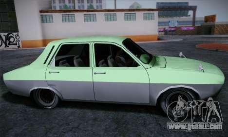 Dacia 1300 Retro Art for GTA San Andreas back left view