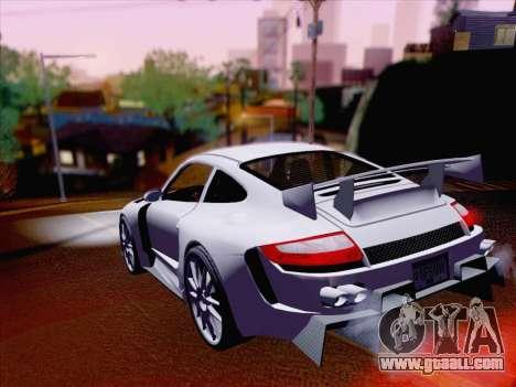 Porsche Carrera S for GTA San Andreas back view