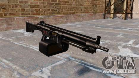 General-purpose machine gun Heckler and Koch HK2 for GTA 4