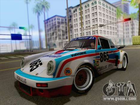 Porsche 911 RSR 3.3 skinpack 3 for GTA San Andreas right view