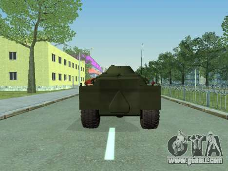 BRDM 2 for GTA San Andreas right view