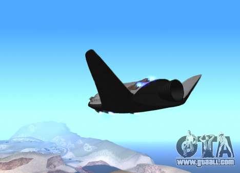 FARSCAPE modul for GTA San Andreas left view