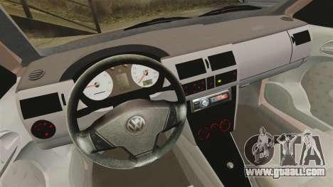 Volkswagen Saveiro G3 SuperSurf for GTA 4 back view