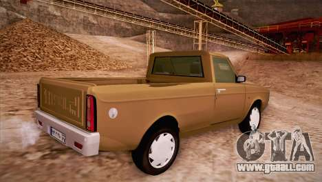 Ikco Paykan Pickup for GTA San Andreas left view