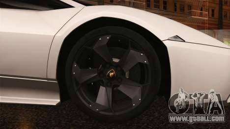 Lamborghini Reventon 2008 SLOD for GTA San Andreas side view