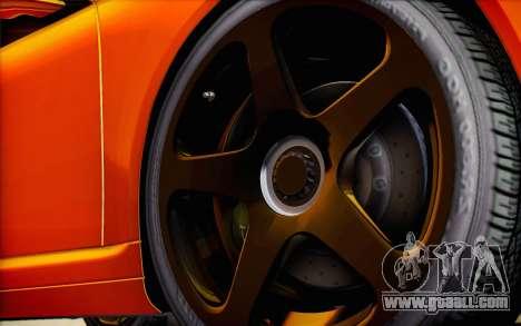 RUF RT12R for GTA San Andreas wheels