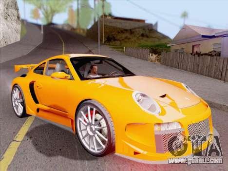 Porsche Carrera S for GTA San Andreas wheels