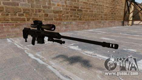 Barrett 98B rifle for GTA 4