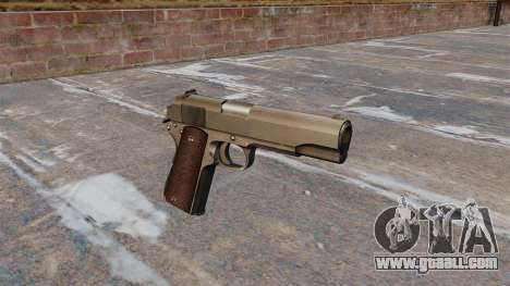 Colt M1911 Pistol for GTA 4