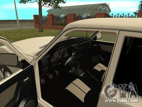 GAZ Volga 31105 for GTA San Andreas back view