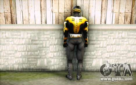 Cyrax for GTA San Andreas second screenshot
