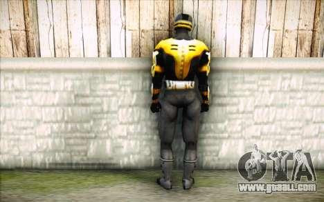 Cyrax for GTA San Andreas second screenshot