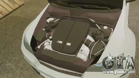 BMW X6 M HAMANN 2012 for GTA 4 inner view
